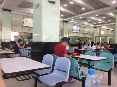 SISU university hongkou campus canteen