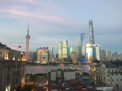 shanghai skyline captain hostel