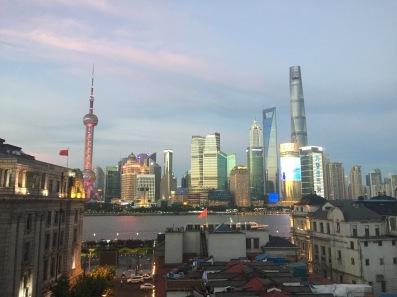 shanghai skyline captain hostel