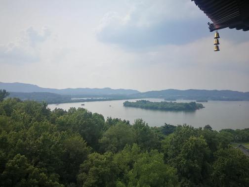 Shanghai summer school Hangzhou lake