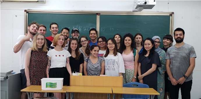Shanghai summer school 2019 level1 Chinese class